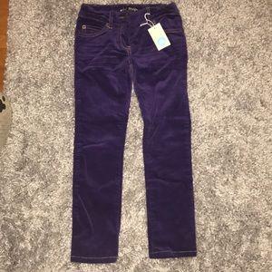 Mini boden velvet corduroy pants.